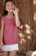 Débardeur Tencel Cotton fille (19) Catalogue n° 85 Enfant (Katia)