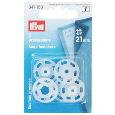 Bouton pression transparent à coudre 21mm (lot de 3) - Prym