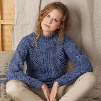 Pull Mérino Tweed (11) Catalogue Katia Basique n°9