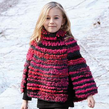 Poncho Happy (21) Catalogue n°75 Enfant (Katia)