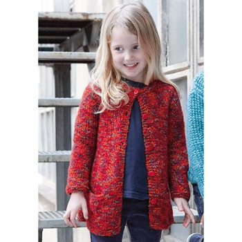 Gilet Duende (21) Catalogue n°83 Enfant (Katia)