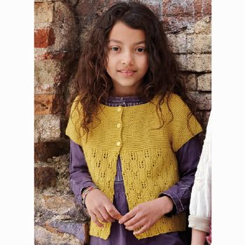 Gilet fille Austral (04) Catalogue n° 71 Enfant (Katia)