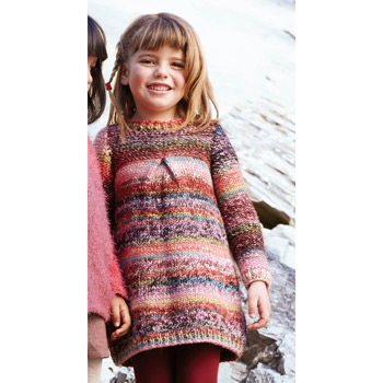 Pull long Kathmandu (17) Catalogue n°75 Enfant (Katia)