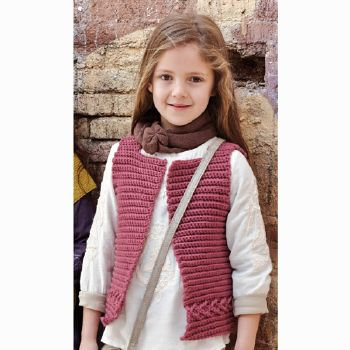 Gilet Norway (05) Catalogue n° 71 Enfant (Katia)