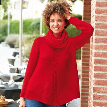 Pull + col mère (10) Catalogue n°86 Basic Merino