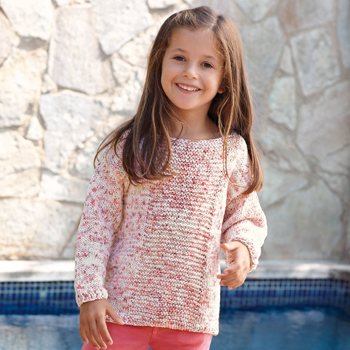 Pull Tahiti Spray (04) Catalogue n°77 Enfant (Katia)