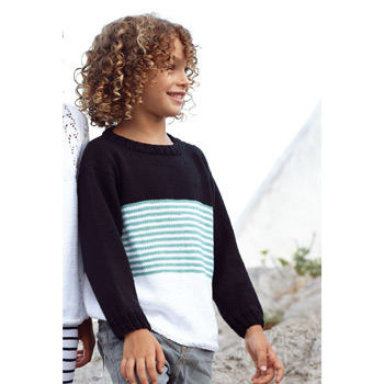 Pull Fair Cotton (42) Catalogue n° 81 Enfant (Katia)