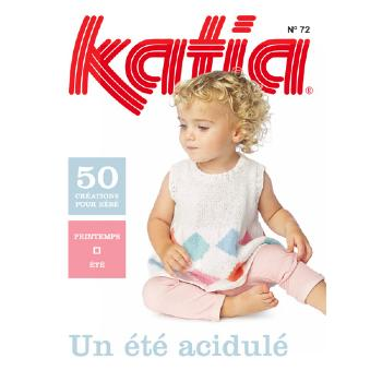 087 - Catalogue Katia layette n°72 - Eté 2015