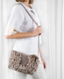 Sac chainette Wood Pulpe Raphia (14) Catalogue n° 97 Chic (Katia)