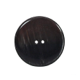 Bouton rond marron (lot de 3) 27mm - Distri