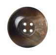 4 Boutons marron 22 mm