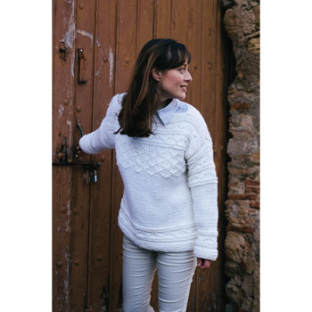Pull Big Merino (01) Catalogue Katia n°4 Débutant