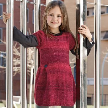 Robe oxford et Basic Merino (16) Catalogue n° 71 Enfant (Katia)