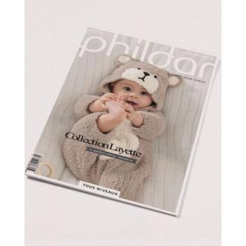 Catalogue Phildar collection Layette n° 158 Automne Hiver 2018/19