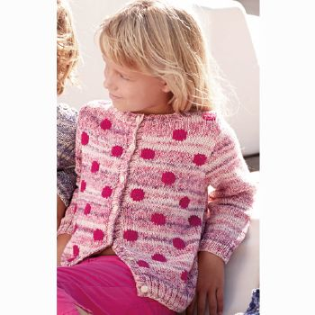 Gilet Cotton100% & Cotton Jeans (20) Catalogue n°69 Enfant (Katia)