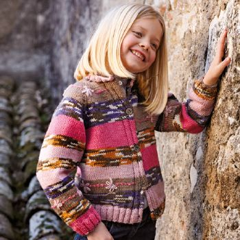 Gilet Marathon Kids 17 Catalogue Katia n°67 Enfant