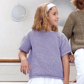 Pull Big Alabama (17) Catalogue Katia Enfant n° 73 Eté 2015