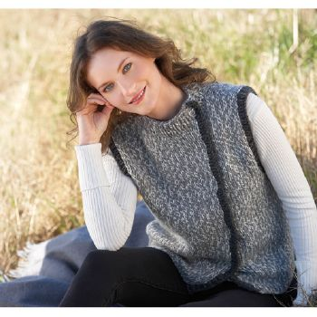 Pull sans manche Big Merino Natur (40) Catalogue n° 79 Adulte (Katia)