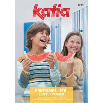 078 - Catalogue Katia Enfant n°89 - Printemps été  2019