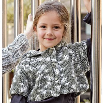 Gilet court Punto (19) Catalogue n° 71 Enfant (Katia)