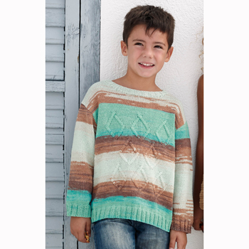 Pull Belice (30) Catalogue n°77 Enfant (Katia)
