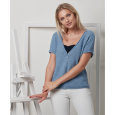 Pull manche courte Tencel Cotton (10) Catalogue sport n°96 Katia