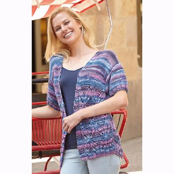 Veste Tropic (18) Catalogue Katia n°82 Eté 2015