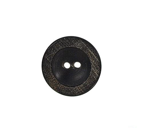 Bouton rond marron (lot de 3) 18mm - Distri