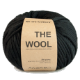 Laine The Wool Black - Pelote de 200 gr- We are Knitters