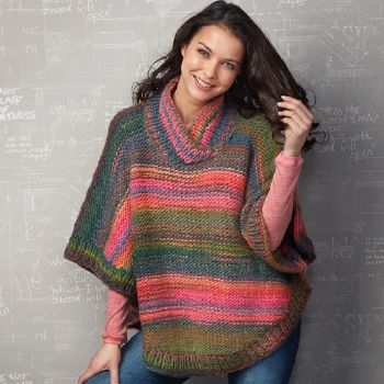 Poncho Inca (5) Catalogue n° 79 Adulte (Katia)