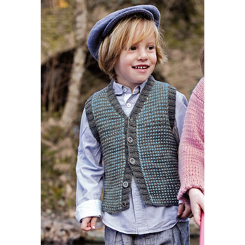 Gilet Baby soft 3.5 (07) Catalogue n°75 Enfant (Katia)