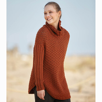 Pull long Catena Merino (21) Catalogue n°2 Concept Katia