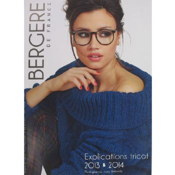 090 - Catalogue BDF Explications du tricot 2013-2014 (324.551)