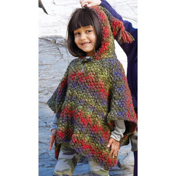 Poncho Kilt (13) Catalogue n°75 Enfant (Katia)