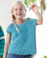 Pull sans manche Hawaii fille (26) Catalogue n° 85 Enfant (Katia)