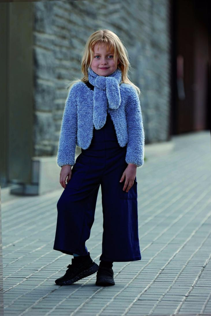 Echarpe Enfant Velour (25) Catalogue n° 87 Enfant (Katia)