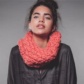 Kit Kind Snood Corail - We are Knitters