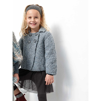 Gilet Mousse (07) Catalogue n°83 Enfant (Katia)