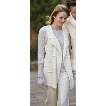 Gilet long Cashlana (04) Catalogue Basique n°11 Katia