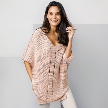 Poncho Cannes (10) Catalogue Katia n°88 Casual