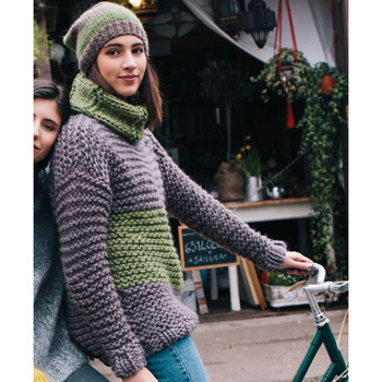 Pull Love Wool (29) Catalogue n°6 Easy Knits (Katia)