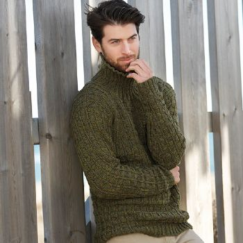 Pull homme Merino 100% effect (28) Catalogue n° 79 Adulte (Katia)