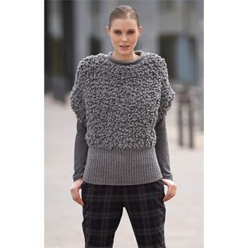 Pull manches courtes Pampa et Merino (29) Catalogue n° 84 Urban Katia