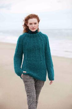 Pull Ingenua Tweed (11) Catalogue Sport n° 98 Katia