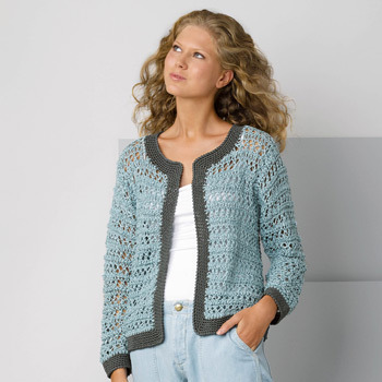 Gilet Tahiti (06) Catalogue Katia n°88 Casual