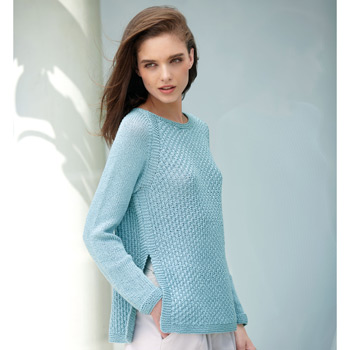 Pull All Seasons Cotton (25) Catalogue n°3 Concept (Katia)