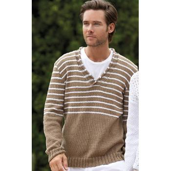 Pull homme Revive 50 (20) Catalogue Katia n°78 City