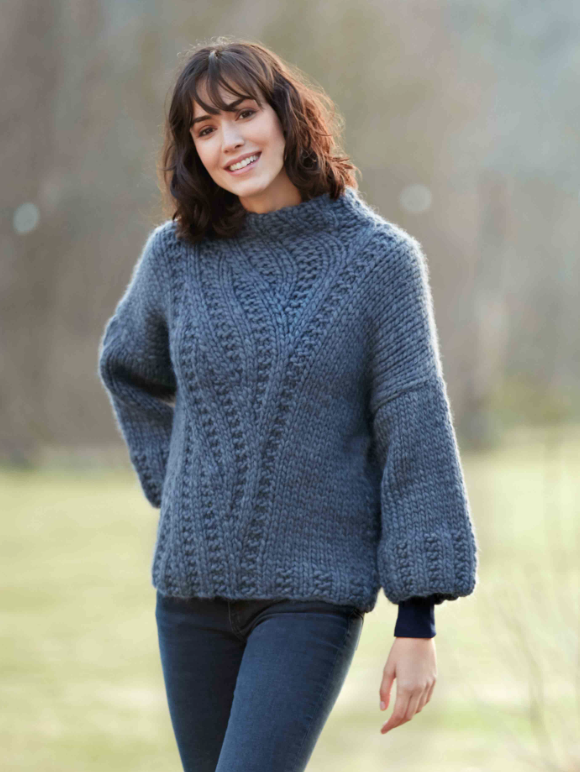 Pull Love Wool (44) Catalogue Sport n°101 Katia