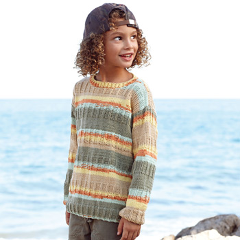 Pull Alabama Color (21) Catalogue n° 81 Enfant (Katia)