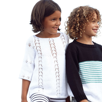 Pull Fair Cotton (41) Catalogue n° 81 Enfant (Katia)